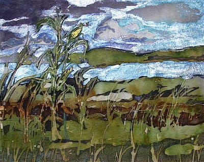 Painting - Bent But Not Broken by Julie Komenda