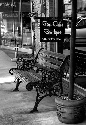 Photograph - Bent Oaks Boutique by Ester Rogers