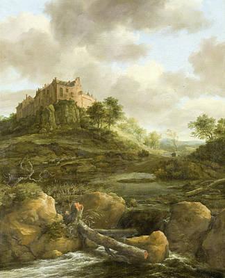 Bentheim Castle Art Print by Jacob Isaacksz van Ruisdae