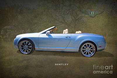 Street Rod Photograph - Bentley Automobile By Darrell Hutto by J Darrell Hutto