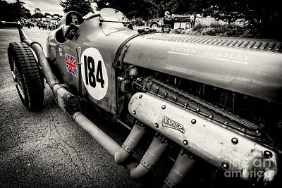Racing Number Photograph - Bentley Classic by Adrian Evans