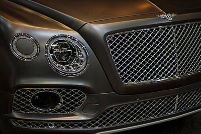Photograph - Bentley Front End by Stuart Litoff