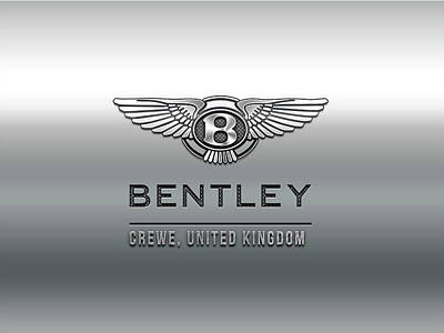 Photograph - Bentley Logo by Carlos Diaz