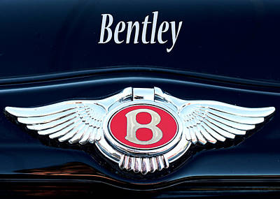 Photograph - Bentley Luxury by Rospotte Photography
