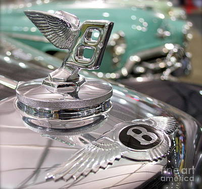 Photograph - Bentley Ornament  by Pamela Walrath