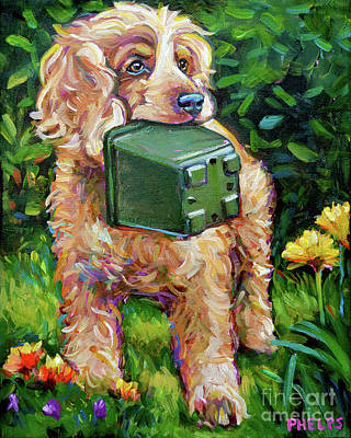 Painting - Bentley by Robert Phelps