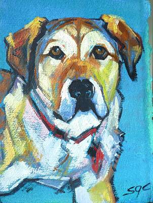 Painting - Bentley by Sarah Gayle Carter