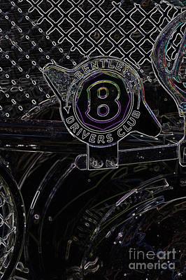 Digital Art - Bentley 1 by Wendy Wilton