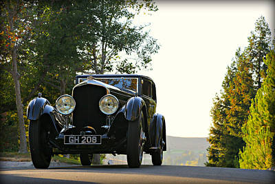 Photograph - Bentley Speed 6 Corsica by Steve Natale