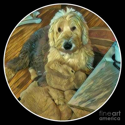 Photograph - Bentley With His Baby by Jodie Marie Anne Richardson Traugott          aka jm-ART