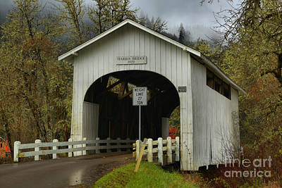 Photograph - Benton County Covered Bridge by Adam Jewell