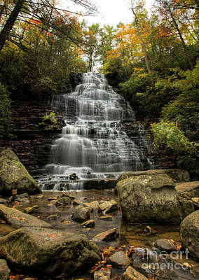 Photograph - Benton Falls by Barbara Bowen