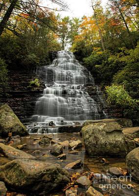 Photograph - Benton Falls by Barbara Bowen