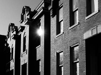 Photograph - Benton Park Facades by Scott Rackers