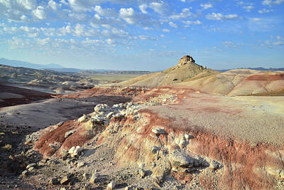 Photograph - Bentonite Clay Dunes In Capitol Reef by Ray Mathis