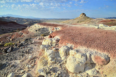 Photograph - Bentonite Dunes Of Cathedral Valley by Ray Mathis