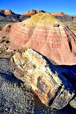 Photograph - Bentonite Hill by Ray Mathis