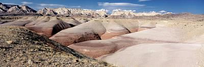 Photograph - Bentonite Mounds by Gary Shepard