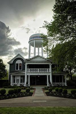 Cityscape Photograph - Bentonville Arkansas Water Tower by Gregory Ballos
