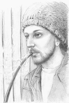 James Parker Drawing - Bentron by James Parker