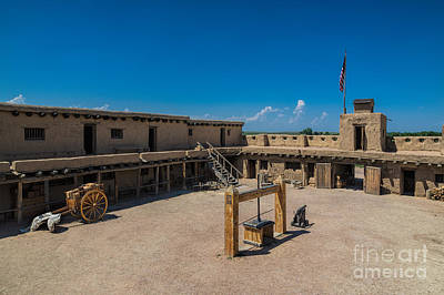 Bent's Fort Courtyard Art Print