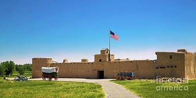 Photograph - Bent's Fort by Jon Burch Photography