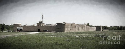 Bent's Old Fort Print by Jon Burch Photography
