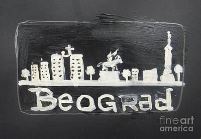 Belgrade Painting - Beograd - Belgrade by Vesna Antic