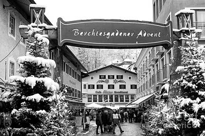 Photograph - Berchtesgaden Advent Scene by John Rizzuto