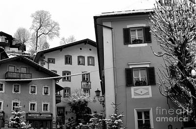 Photograph - Berchtesgaden Buildings by John Rizzuto