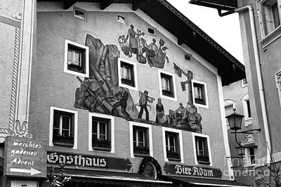Photograph - Berchtesgaden Gasthaus by John Rizzuto