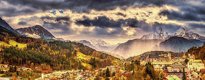 Photograph - Berchtesgaden In Autumn by Pixabay