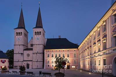 Photograph - Berchtesgaden Schlossplatz by Brian Jannsen