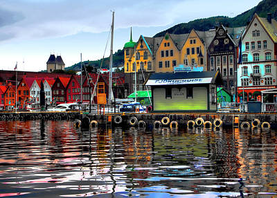 Bergen Colors Art Print
