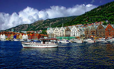 Bergen - Norway Art Print