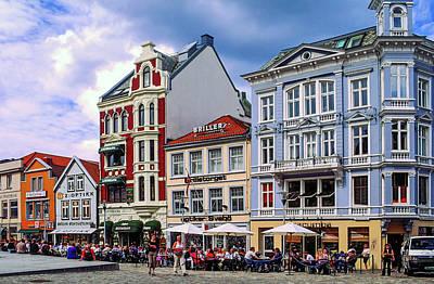 Photograph - Bergen Street Scene by Sally Weigand