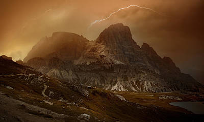 Alps Photograph - Bergwetter_01 by Franz Schumacher