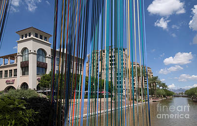Photograph - Scottsdale Celebrates In Colour by Brenda Kean