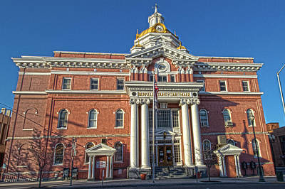 Photograph - Berkeley County Courthouse by Daniel Houghton