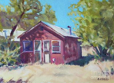 Painting - Berkeley Olive Grove 1913 by Barbara Oertli