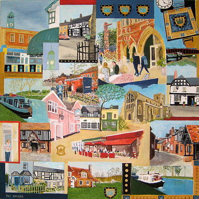 Scoop Painting - Berkhamsted England by Pat Barker