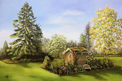 Painting - Berkshire Botanical Garden by Michelle Iglesias
