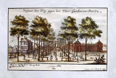 Berlin 1691 Art Print by Andrew Fare