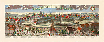 Berlin 1760 Art Print by Andrew Fare