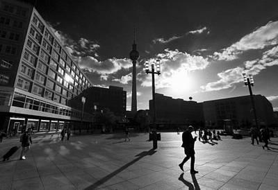 Photograph - Berlin Alexanderplatz by David Harding