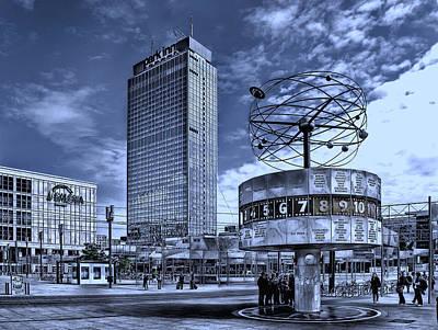 Berlin Alexanderplatz Art Print by Joachim G Pinkawa