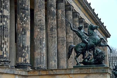 Photograph - Berlin Altes Museum by Steven Richman