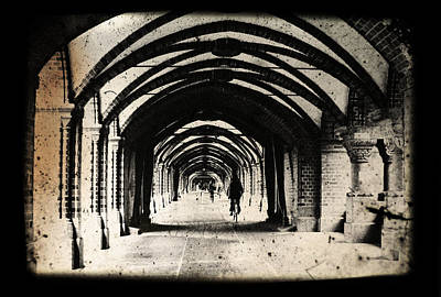 Manipulation Photograph - Berlin Arches by Andrew Paranavitana