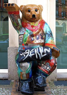 Photograph - Berlin Bear by John Rizzuto