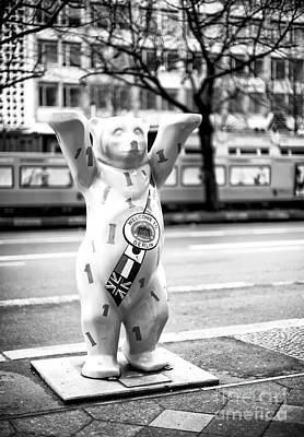 Photograph - Berlin Bear Welcome by John Rizzuto